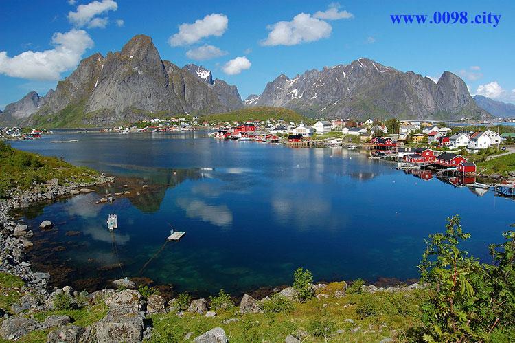 عکس یک روستا در نروژ -آگهی و تبلیغات برای ایرانیان نروژ - اسلو نروژ -          - آگهی و تبلیغات برای ایرانیان نروژ – اسلو